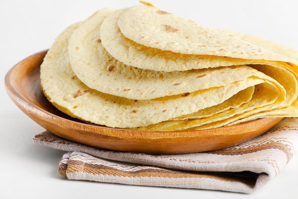 خبز تورتيلا يومي