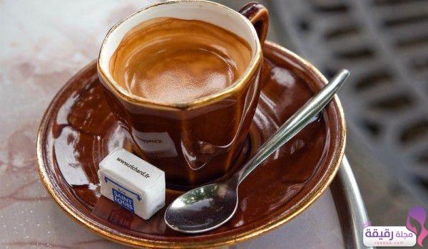 طريقة عمل القهوة الفرنسية بالكراميل