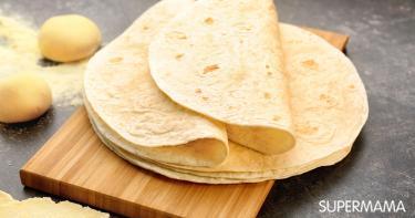 طريقة عمل خبز التورتيلا