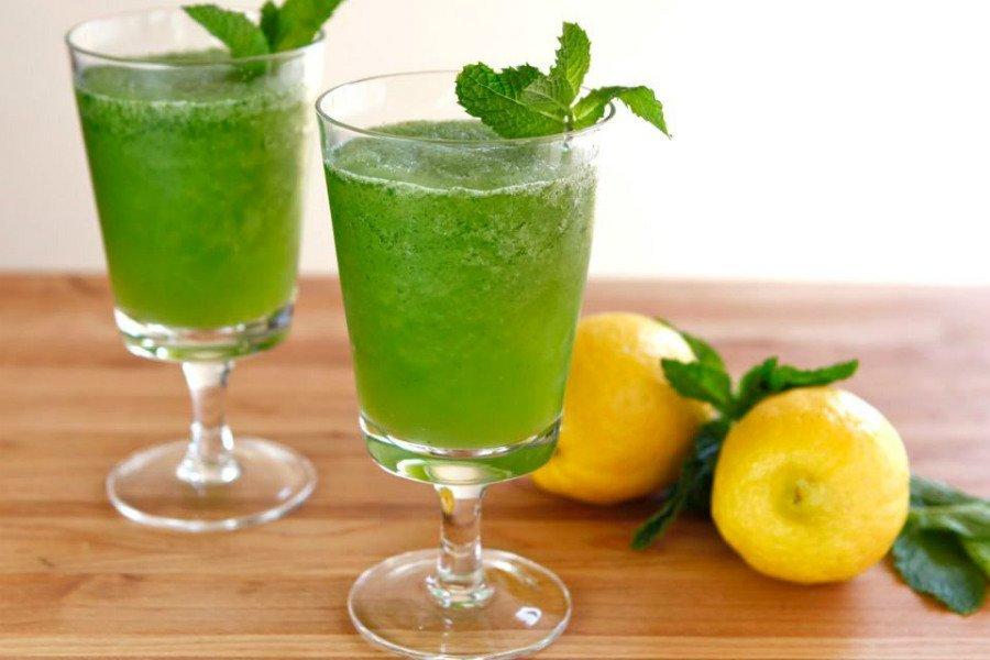 طريقة عمل عصير الليمون بالنعناع مثل المطاعم